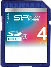 Silicon Power SDHC 4Gb class 4