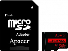 Apacer microSDHCSDXC class 10 UHS-1 SD adapter 64Gb