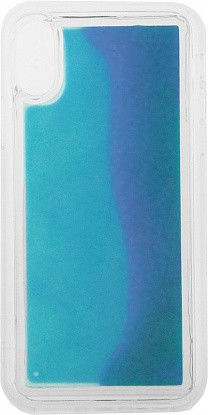 Чехол-накладка TOTO Night Light Liquid Shine Case iPhone X/XS Blue - №1