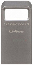Kingston DataTraveler Micro 3.1 USB 3.1 64Gb Silver