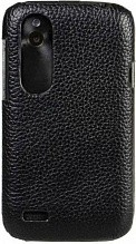Melkco Leather Snap Cover для HTC Incredible S Black