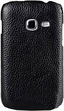 Melkco Leather Snap Cover LC для Samsung Galaxy Ace Black