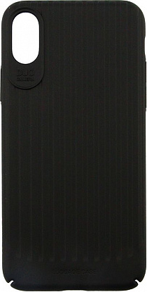 Чехол-накладка Usams Trunk Series Apple iPhone X Black - №1