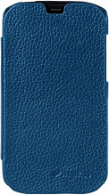 Melkco Leather Case Jacka Face Cover Book для HTC Desire V/X Dark Blue