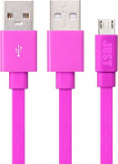 Кабель JUST Freedom Micro USB Pink - Фото №1