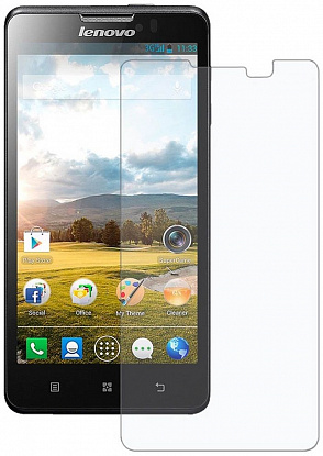Защитное стекло TOTO Hardness Tempered Glass 0.33mm 2.5D 9H Lenovo A2010 - Фото №1