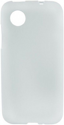 Чехол-накладка Mobiking Silicon Case для LG L7 II Dual/P715 White