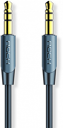 Кабель Rock A1 Audio Cable 0,5M Blue фото
