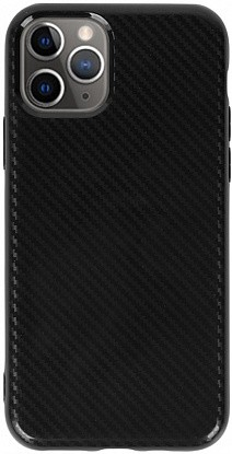 Чехол-накладка TOTO TPU Carbon Fiber 2,0mm Case Apple iPhone 11 Pro Max Black фото