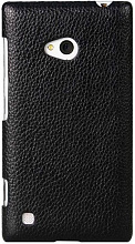 Melkco Snap leather cover для Nokia Lumia 720 Black
