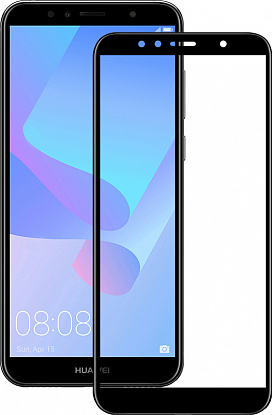 Защитное стекло Mocolo 2.5D Full Cover Tempered Glass Huawei Y6 Prime 2018 Black фото
