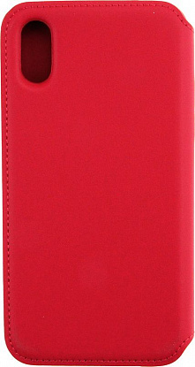 Чехол-книжка Remax Ideal Leather Case Apple iPhone X Red - №1