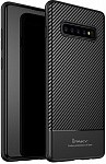 Чехол-накладка Ipaky Carbon Fiber Series/TPU Case With Carbon Fiber Samsung Galaxy S10+ Black